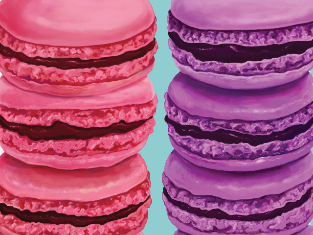 Summer Macarons